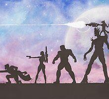 Guardians of the Galaxy by Jade Jones