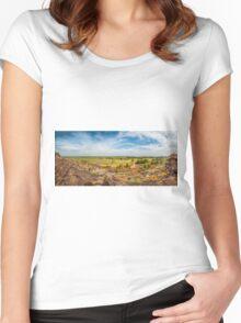Ubirr Views Panorama Women's Fitted Scoop T-Shirt
