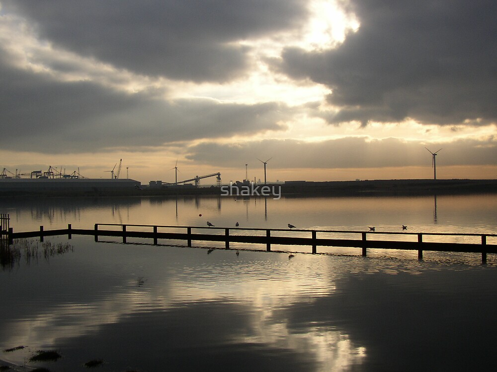 Mersey calm by shakey