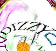 DIZZY  ((O)) Sticker