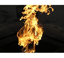 St Petersburg Flame Photographic Print