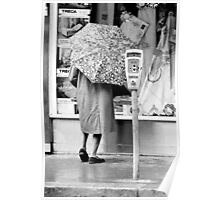 Collector, On the Way to M.Cartier Bresson Paris 1975 11 (n&b)(h) by Olao-Olavia par Okaio Création Poster