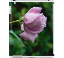a wet lonely rose iPad Case/Skin