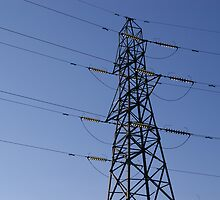 Electricity Pylon by juanstono
