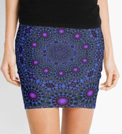 Fortuna Rotae (Purple) Mini Skirt