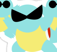 Squirtle Squad Sticker