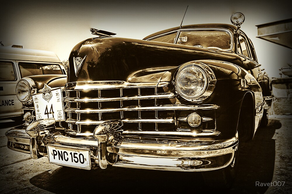 Vintage car by Ravet007