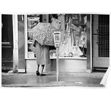 Collector, On the Way to M.Cartier Bresson Paris 1975 12 (n&b)(t) by Olao-Olavia par Okaio Création Poster