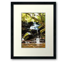 Somersby Falls Framed Print
