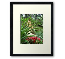 Statue of Mary Framed Print