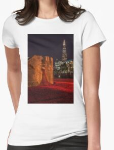 A night at the Tower Womens Fitted T-Shirt