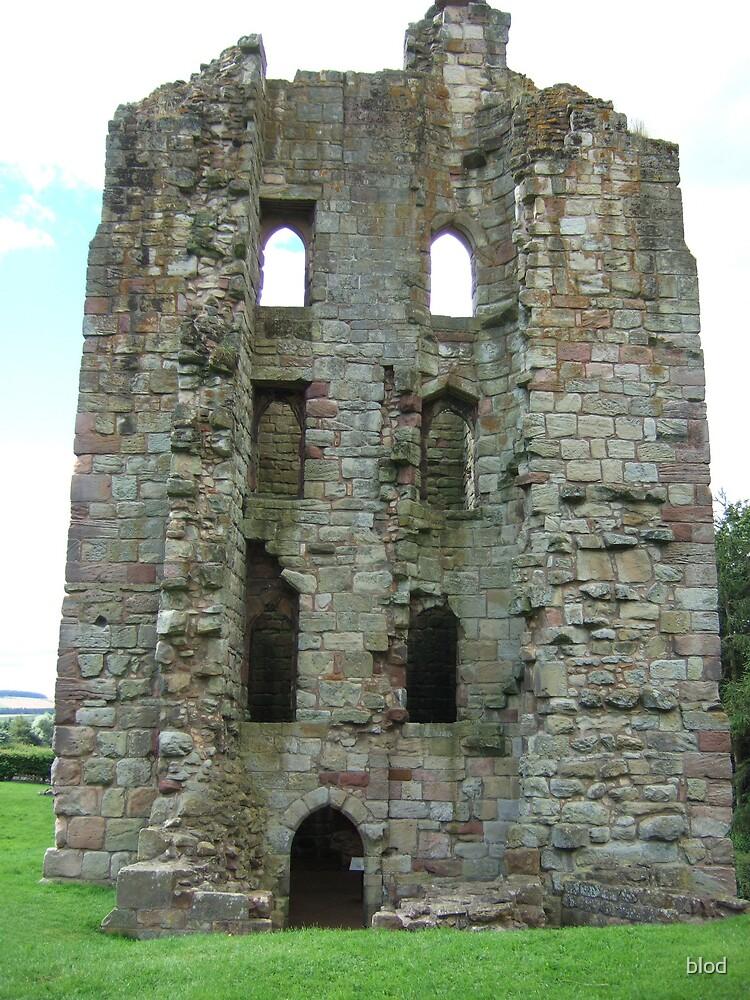 Etal Castle by blod