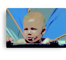 Colour Me Pout Canvas Print