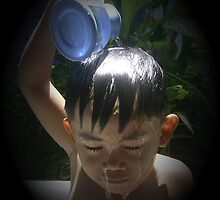 Little Boy Bathing by Carlo Cesar Rodillas