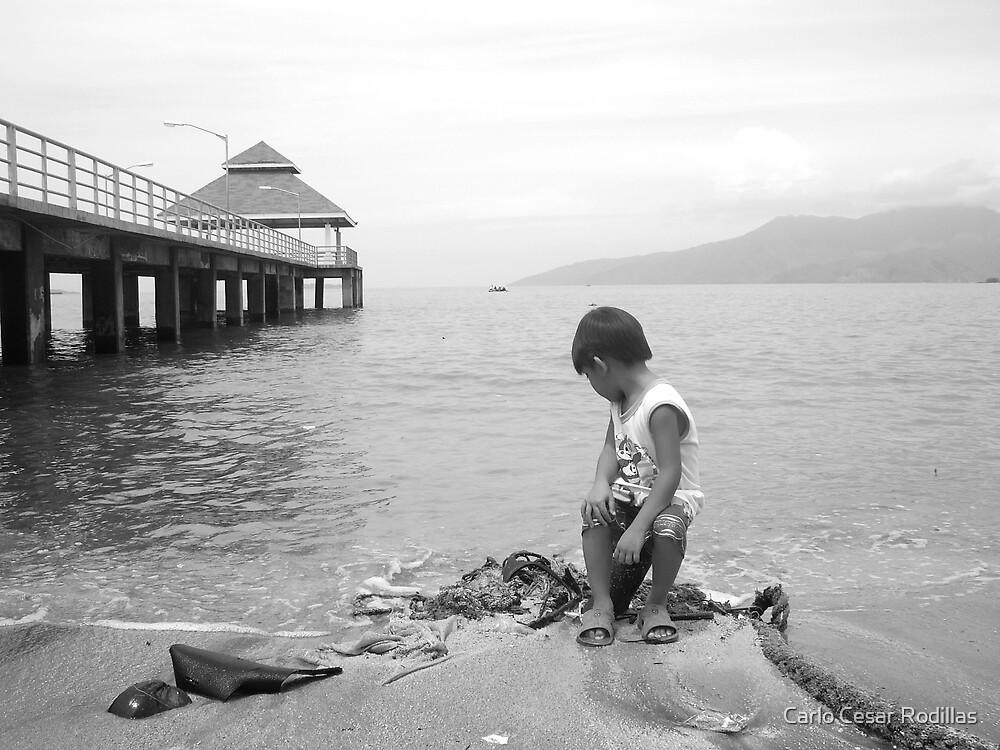 Pollution Destroys His Future by Carlo Cesar Rodillas