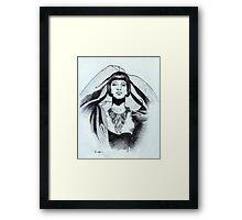 The Flapper Framed Print