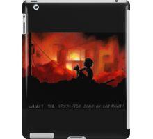 Wasn't the Apocalypse Beautiful Last Night! iPad Case/Skin