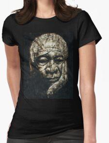 Morgan Freeman Womens Fitted T-Shirt