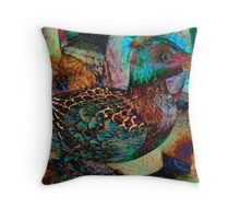 Still Life With Duck Throw Pillow