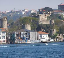 Old Turkish House on the Bosporus by Anita Donohoe