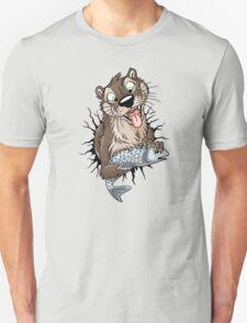 STUCK Otter (black cracks) Unisex T-Shirt