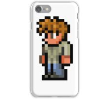 Terraria the guide iPhone Case/Skin