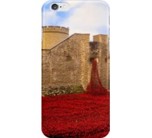 Poppies At Tower Of London iPhone Case/Skin