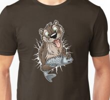 STUCK Otter (white cracks) Unisex T-Shirt