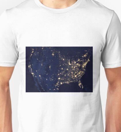 USA spaciale Unisex T-Shirt