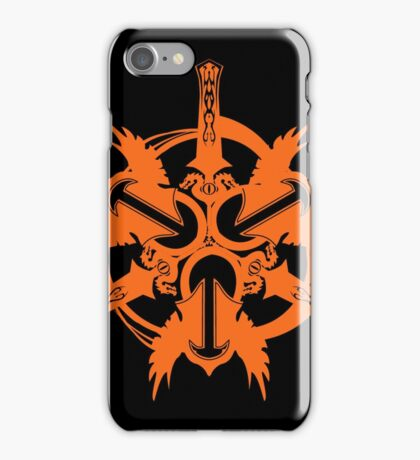 Fury Warrior Icon iPhone Case/Skin