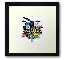 MineWorld5 Framed Print
