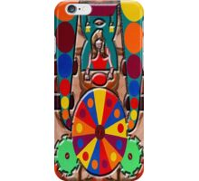 WHEEL OF LUCK iPhone Case/Skin