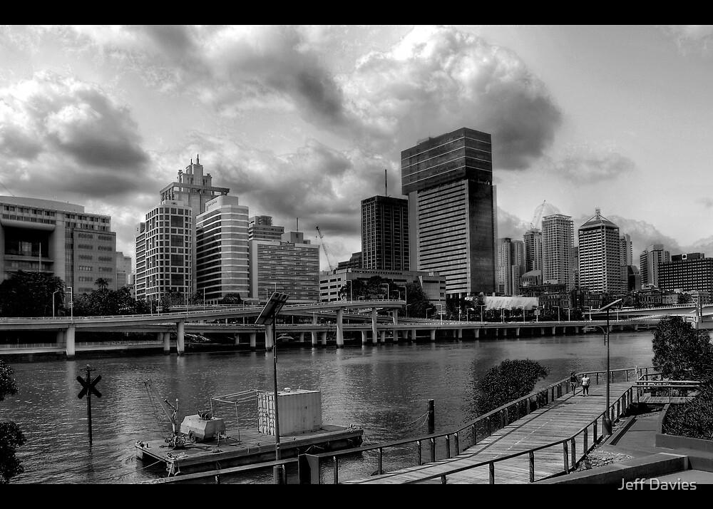 City walk by Jeff Davies
