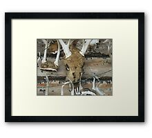 THE HUNTING CLUBHOUSE Framed Print