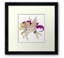 My little pony Yu-Gi-Oh! Framed Print