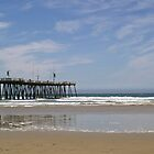 Pier into the Pacific by Ken Bailey