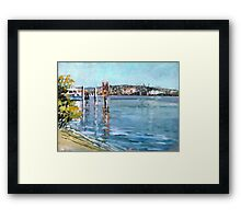 Brisbane River 1 Framed Print