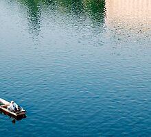 Vltava River - Boat by jookboy