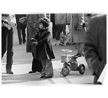 Collector, On the Way to M.Cartier Bresson Paris 1975 18 (b&n)(h) by Olao-Olavia par Okaio Création Poster