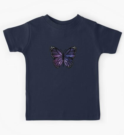 Butterfly (galaxy) Kids Tee