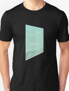 Glitch Homes Wallpaper uralia left T-Shirt
