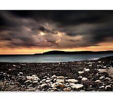 Hondoq Bay - Malta by RONALD BALZAN