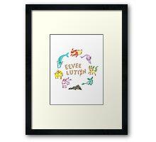 Eeveelution Framed Print