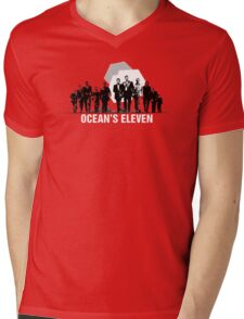 Ocean's Eleven (2001) Mens V-Neck T-Shirt