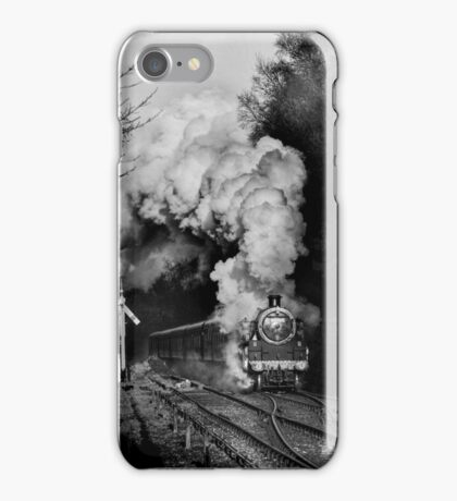 Steaming into Goathland iPhone Case/Skin