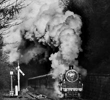 Steaming into Goathland by Dave Hudspeth