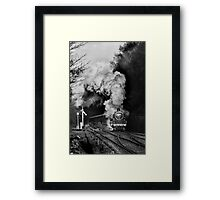 Steaming into Goathland Framed Print