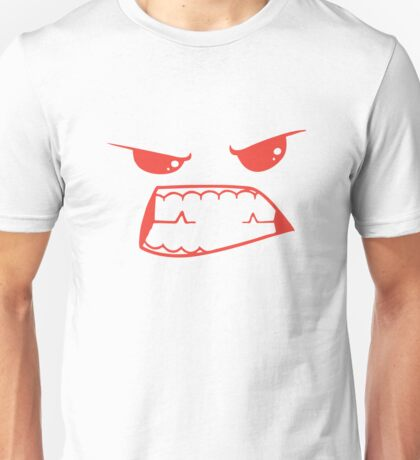 Gritted Teeth Unisex T-Shirt