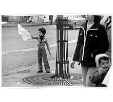 Collector, On the Way to M.Cartier Bresson Paris 1975 19 (b&n)(t) by Olao-Olavia par Okaio Création Poster