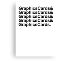 Graphics Cards and Graphics Cards Canvas Print
